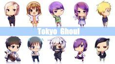 Токио вурдалак Chibi смазливая аниме обои Full HD 1920 × 1080