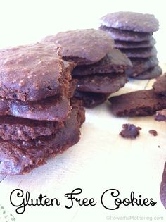 Chocolate Gluten Free Cookie Recipe   Powerful Mothering