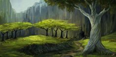 Valley by Aerenwyn.deviantart.com on @DeviantArt