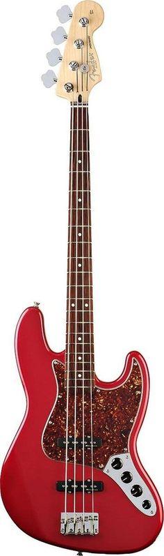 Fender Deluxe Active Jazz Bass Guitar
