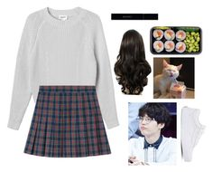 """"""""""" by briasab on Polyvore featuring Monki, Vans and Gucci"""