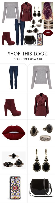 """Lucy 1"" by kora-muffin on Polyvore featuring New Look, Proenza Schouler, Lime Crime, MANGO, Boohoo, Givenchy and Rebecca Minkoff"