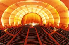 Now THIS is a CINEMA (at Radio City Music Hall)!    At Kipnis Studios (Ultimate Home Theater Designs) - KSS™    For further information:  www.Kipnis-Studios.com