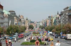 Praga - Día 5: Plaza Wenceslao, Torre de la Pólvora, Torre del reloj de Praga, Museo del Chocolate.