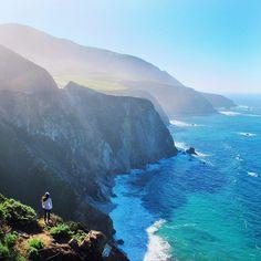 Stunning cliff side