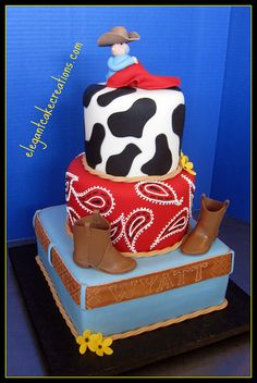 BABY COWBOY | Cowboy Baby Shower Cake | Flickr - Photo Sharing!