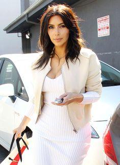 BREAKING: Kim Kardashian's Hair Looks Different