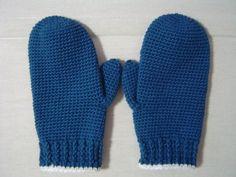 超簡単に編めるシンプルな手袋の作り方 編み物 編み物・手芸・ソーイング アトリエ