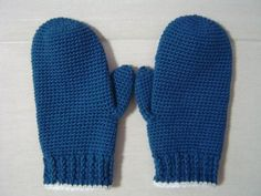超簡単に編める手袋(ミトン・編み図付き) : Crochet a little