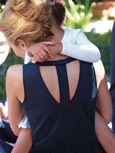 Love tops with interesting backs like this!