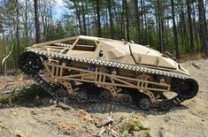 """From its first vehicle, the now famous """"Ripsaw,"""" Howe and Howe Technologies not only caught the eye of the Defense industry, it forced them to change course entirely. Army Vehicles, Armored Vehicles, Snow Vehicles, Super Tank, Homemade Go Kart, Hors Route, Bug Out Vehicle, Terrain Vehicle, Cool Vans"""