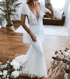 """Emmy Mae Bridal on Instagram: """"Our PEONY dress 😍 snapped by bae @becback // available to try on in our MWL boutiques Australia wide + our stockists throughout the world 🌍…"""" Wedding Looks, Dream Wedding, Wedding Day, Boutiques Australia, Tulle Bows, Sand Ceremony, Bridal Gowns, Wedding Dresses, Try On"""