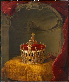 Darstellung der Barockkopie des österreichischen Erzherzoghutes