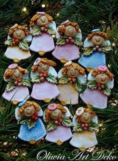 Diy Christmas Gifts, Christmas Wreaths, Xmas, Christmas Ornaments, Holiday Decor, Clay Jar, Clay Figurine, Salt Dough, Clay Creations