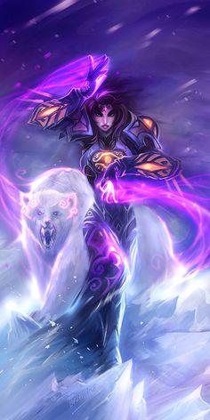 polar magic by breathing2004.deviantart.com on @deviantART