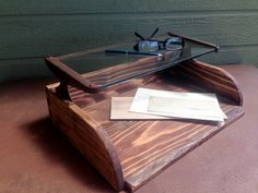 Letter Tray/Desk Organizer made from Vintage by EvelynsCollections, $85.00