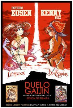 Kenny Ruiz: Firmas en Delirio. Comic Books, Cartoons, Comics, Comic Book, Graphic Novels, Comic