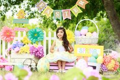 Spring Mini Session Set Ideas, Easter Mini Sessions Set Ideas