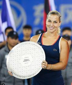 Dominika Cibulková - finalistka turnaja vo Wu Chan 2016 Dominika Cibulkova, Tennis, Sports, Tennis Sneakers, Sport, Sneaker