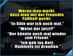 So ist das eben mit der Freundin. ^^' #Fußball #WM2018 #sowahr #lustig #Sprüche #Humor