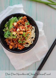 Dan Dan Noodles – China Sichuan Food
