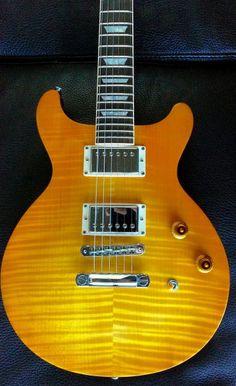 1998 Gibson Les Paul Standard DC   Amber Serrano   Double Cutaway Guitar.