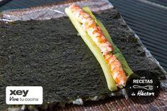 Cómo preparar sushi paso a paso - Receta de sushi - Fotografías del plato y preparación
