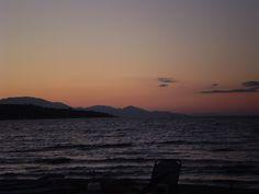 Sunset on Argassi Beach, Zakynthos