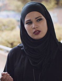 "Iman Meskini plays the role of Sana Bakkoush, a teen muslim girl in the Norwegian show ""Skam"""