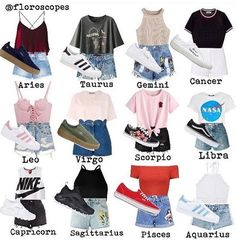 I am a libra and these are zodiac casual outfits. Teenage Outfits, Teen Fashion Outfits, Swag Outfits, Cute Casual Outfits, Outfits For Teens, Summer Outfits, Girl Outfits, Casual Teen Fashion, Winter Outfits