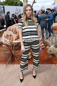 Jennifer Lawrence, Celine Dion, Elle Fanning and More Front Row Celebrities at Paris Haute Couture Photos | W Magazine