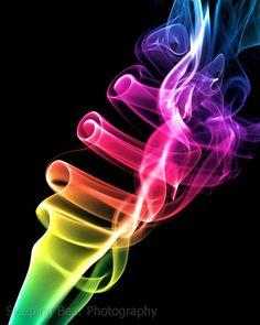Colorful Smoke Photography | Sleeping Bear Photography/Smoke/Colorful Smoke 1