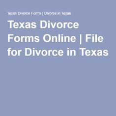 Pin by divorce forms 360 divorce papers on divorce forms texas texas divorce forms online file for divorce in texas solutioingenieria Choice Image