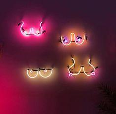 Boobs | neon