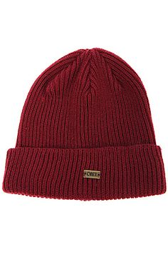 The Dover Beanie in Burgundy Dovers 60a3ba852678