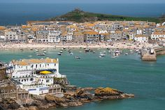 Such a beautiful village - St Ives, Cornwall <3