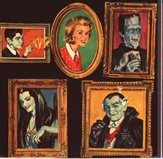 The Munsters - Family portraits