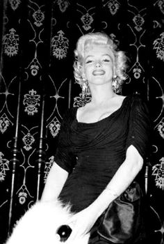 """A rare photograph of Marilyn Monroe, 1953. """