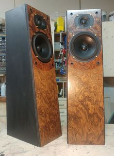 Tower Speakers, Audio Design, Google, Vintage