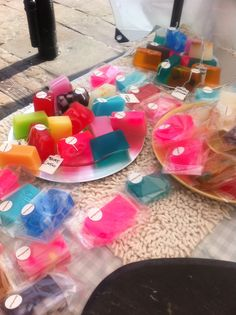 My little stall of super soaps!