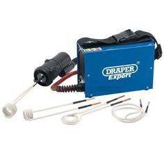 Draper-garage-officina-esperto-Riscaldatore-ad-induzione-Bobina-Riscaldamento-Tool-Kit-80808