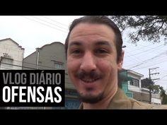Vlog diário #00 - Teste + Ofensas Projetinho novo no canal! dêem uma olhadela e opinem lá no Youtube, por favor!