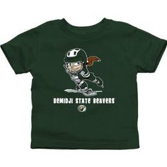 NCAA Bemidji State Beavers Infant Puck Princess T-Shirt - Green   $14.95