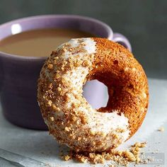 Take a peek at this tasty apple-walnut doughnut recipe! If you're in search for a yummy pastry, then this delicious dish is for you. It's quick. It's easy. And it's a breakfast that you can bring on-the-go to the office.