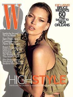 W Magazine - Kate Moss