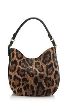 JCREW Leopard Hobo Bag <3. Too expensive but would like something similar