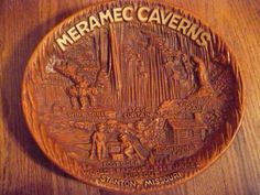 Meramec Caverns in Stanton, Missouri souvenir bowl. Here's one I haven't seen before.