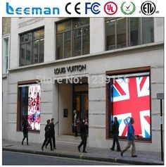 LEEMAN OPTOELECTRONIC technology Limited --- P10 indoor transparent Glass led display screen led video screen for showcase #Affiliate