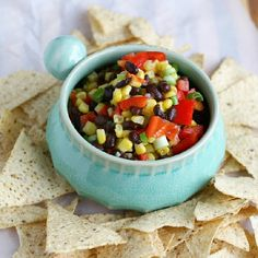 Get ready for summer with this fresh and colorful dip! Make it in minutes with simple ingredients.