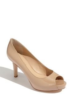 I love these, but my husband thinks that nude color shoes are old lady shoes.... :(